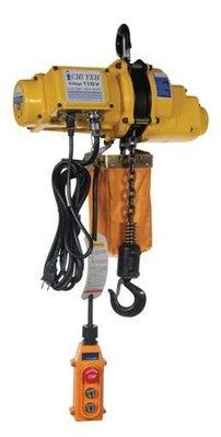 FUJEN 系列:500KG鍊條吊車/鍊條式/吊車/單相220V電壓/鍊條式電動吊車可加裝小車