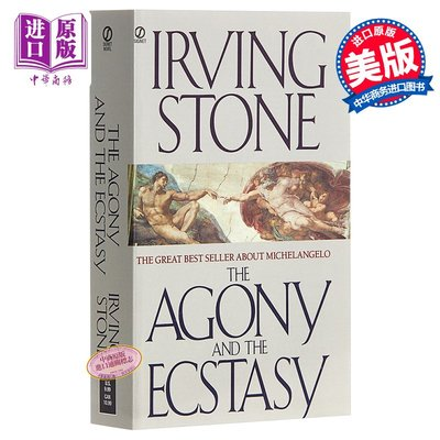 痛苦與狂喜: 向石而生(豆瓣年度讀書榜單)英文原版 The Agony and the Ecstasy:A Biogra
