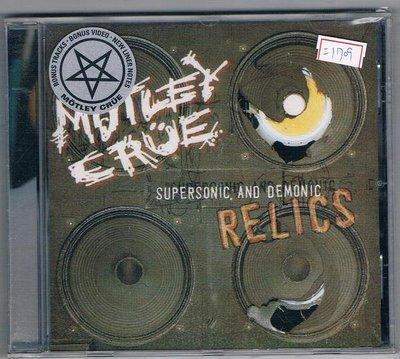 [鑫隆音樂]西洋CD-MOTLEY CRUE:SUPERSONIC AND DEMONIC RELICS  全新/免競標