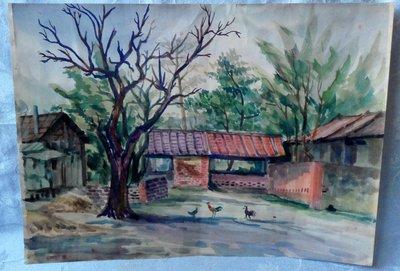紫色小館1-1-----------老樹與雞2