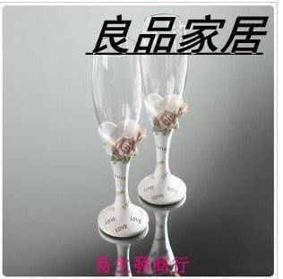 【易生發商行】特價結婚禮酒玻璃杯婚房布...