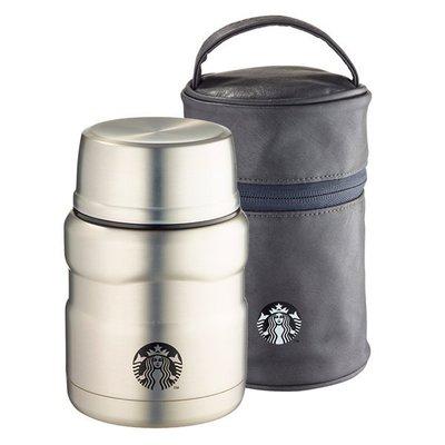 星巴克 STARBUCKS 2016年 銀品牌餐食罐組 含專屬提袋 附折疊湯匙 限量商品 超取 離島 海外