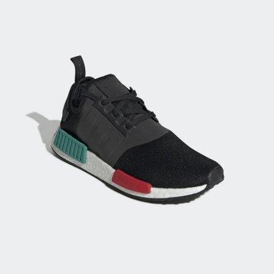 【吉米.tw】ADIDAS NMD R1 BOOST 黑 紅綠 日文 反光 休閒運動鞋 EF4260 MAR
