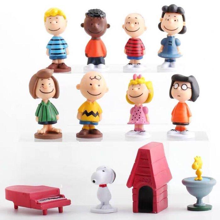 《瘋狂大賣客》SNOOPY 史努比 查理布朗 糊塗塌客 莎莉布朗 奈勒斯 佩蒂 瑪茜 露西 富蘭克林 動漫 玩具 禮物 模型 公仔 擺件 蛋糕 創意 造型 卡通