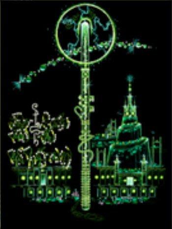 [心靈之音] #200 維里力量:來自亞嘉沙的權杖(生命能啟動器)VRIL POWER-能量催化圖-美國進口中文說明