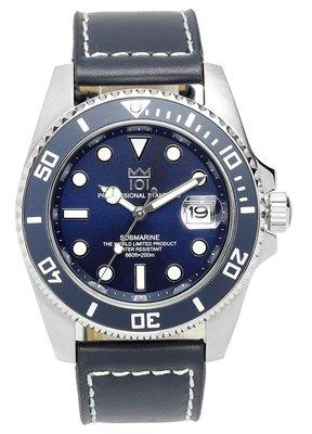 日本正版 HYAKUICHI 101 hyaku1-002 藍色 男錶 男用 手錶 夜光 SEIKO機芯 日本代購