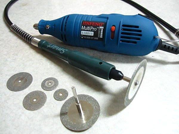 ㄚ勝的店 切割機 鑽石切片配軟管筆及雕刻機 直購990元
