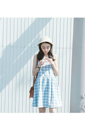 JOYCE SHOP格紋洋裝