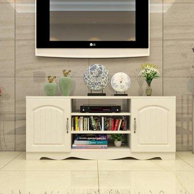 簡約現代電視櫃歐式鋼化玻璃客廳茶幾組合小戶型迷你地櫃視聽櫃子YXS