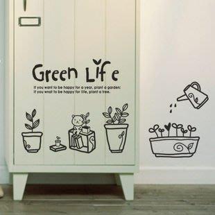 小妮子的家@綠色生活壁貼/牆貼/玻璃貼/ 磁磚貼/汽車貼/家具貼/冰箱貼