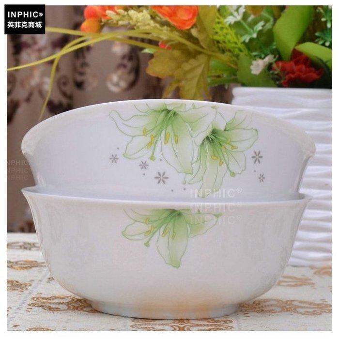INPHIC-骨瓷 餐具單品 麵碗綠相約_S01861C