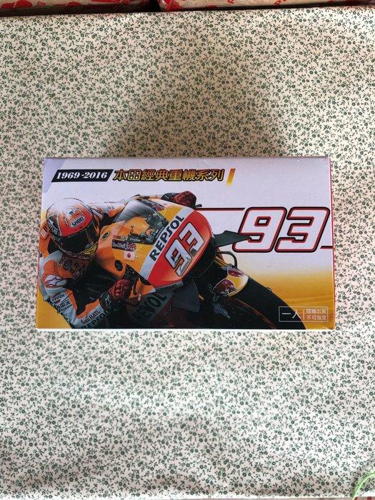 7-11 HONDA 本田經典重機系列模型車單選區4號