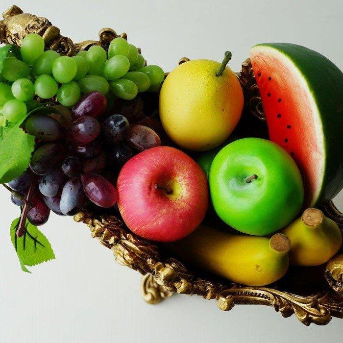 BELOCO 水果模型 假水果 仿真水果 面包蔬菜果蔬裝飾品 套裝優惠價BE655