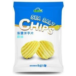 一箱12包可超取統一生機 海鹽洋芋片(原味) 50g/包 【A01160】
