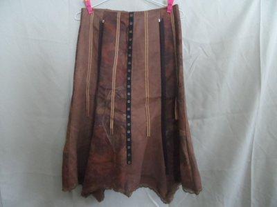 大熊舊書坊-二手  裙 腰144長74--衣1