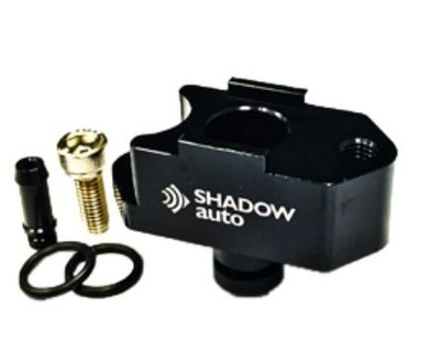 DJD19052265 Shadow Lexus IS200t渦輪壓力轉接座-亮黑 歡迎洽詢