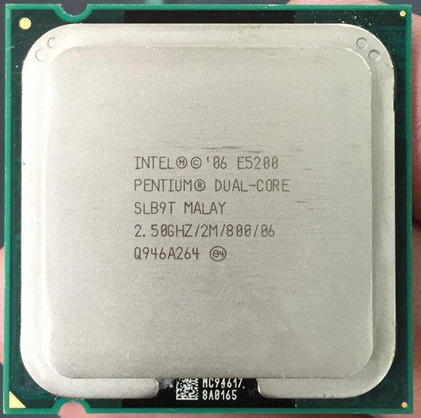 【偉鑫資訊】Intel CPU 處理器 E5200 E5300 E5400 E5500 E5800