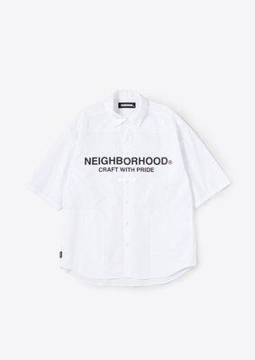 MOMO精品代購 潮牌2021SS NEIGHBORHOOD TRAD / C-SHIRT . 3Q 襯衫 3/30發