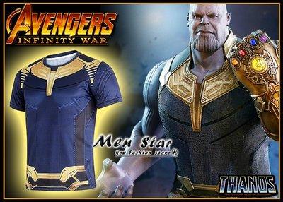 【Men Star】免運費 復仇者聯盟3 薩諾斯 反派主角 運動衣 短T 媲美 Dickies SMUDGE SQUAD