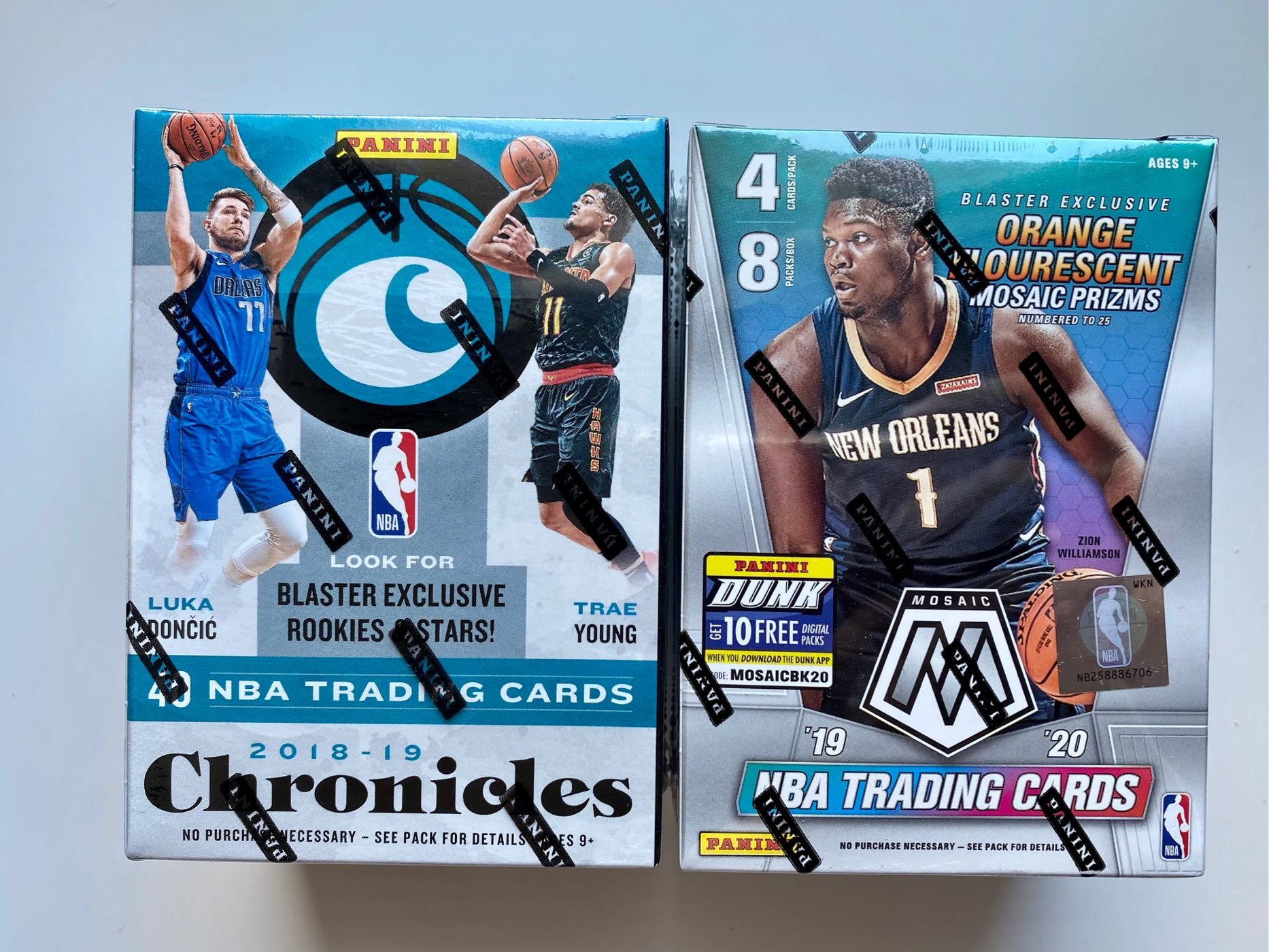 超熱!Mosaic blaster Chronicles blaster 拆Luka Doncic Zion Williamson