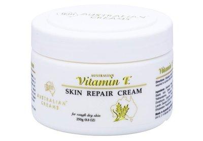 澳洲代購-G&M Vitamin E Skin Repair Cream 小麥維E修護霜(250g)。