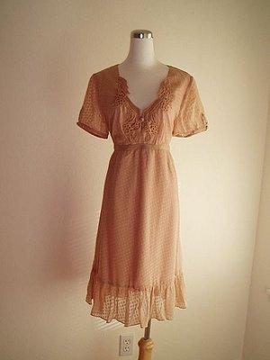 =出清衣櫥= 美國品牌BOSTON PROPER法國宮廷風美洋裝V領微性感