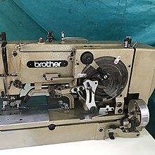 工業縫紉機 日本制-BROTHER 兄弟牌 814型 鎖眼機,全自動開釦眼車(付全新桌板)