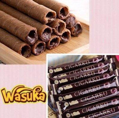 ~芊芊小舖~  Wasuka  印尼 威化捲 巧克力/起司/牛奶/咖啡/花生 5種口味 600g