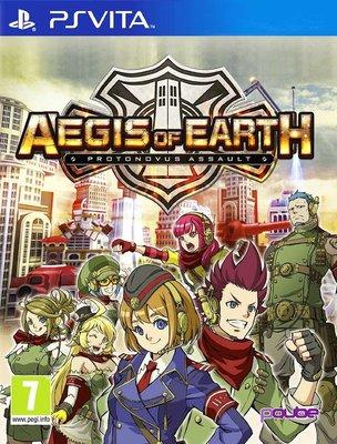 全新未拆 PSV 絕對迎擊戰爭 -英文版- Aegis of Earth Protonovus Assault 塔防