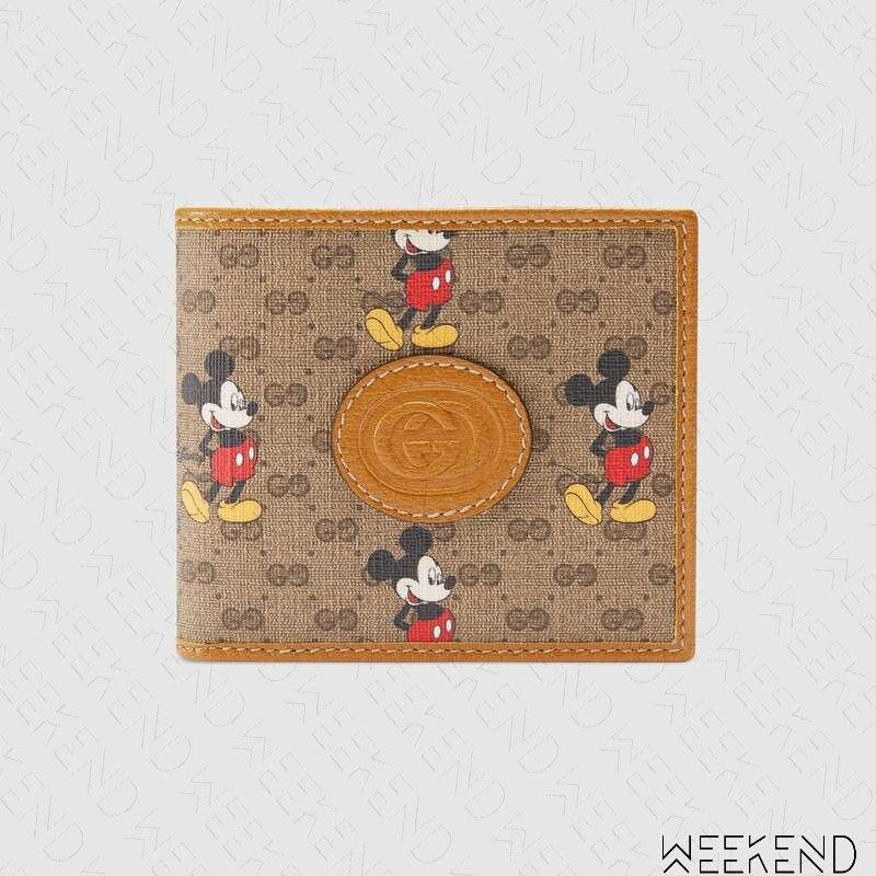 【WEEKEND】 GUCCI x DISNEY 迪士尼 聯名 米奇 Wallet 皮夾 短夾 602547