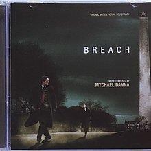 《絕版專賣》雙面特勤 / Breach 電影原聲帶 Mychael Danna (歐版)