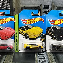 Hotwheels Honda NSX 3架 Hot Wheels