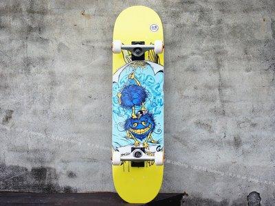【 K.F.M 】ANTI HERO GRIMPLE GLUE 8.0 藝術家合作款 整組 技術板 滑板 美國進口滑板
