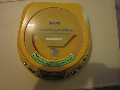 【強強二手商品】三洋Sanyo CD隨身聽