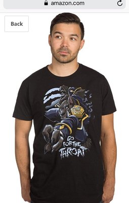 HEROES OF THE STORM LORD OF THE WORGEN PREMIUM TEE 狼人