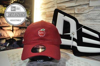 New Era Branded New York Big Apple 9Twenty NE 紐約大蘋果酒紅色老帽