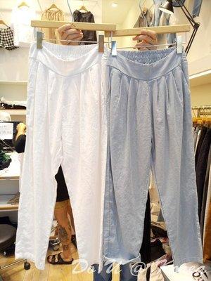 Dressing On You 韓國連線  棉麻打折休閒老爺褲(6色)