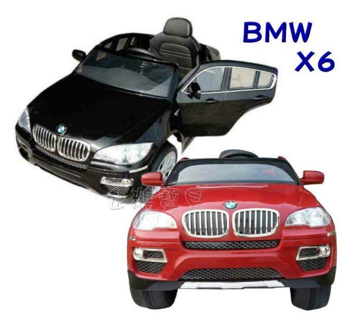 @企鵝寶貝二館@ 正原廠授權 寶馬 BMW X6 (雙驅) 遙控電動車 / 兒童電動車 / 雙馬達電動車~可議價