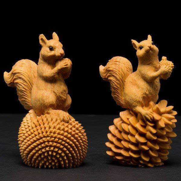 5Cgo【茗道】含稅會員有優惠 546836338422 黃楊木雕創意家居茶壺茶杯泡茶茶海茶玩實木精品手把件雕刻工藝品可