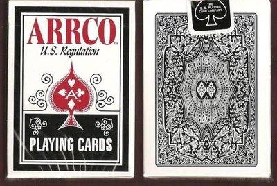 【USPCC撲克牌】ARRCO US regulation 撲克牌 黑