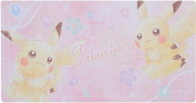 全新現貨😊PTCG 寶石 皮卡丘 pikachu 寶可夢中心 寶可夢 神奇寶貝 TCG 周邊 卡墊 桌墊 自取