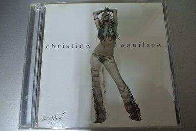 CD ~Christina Aguilera 克莉絲汀 裸 STRIPPED~2002 RCA 7432196125-2