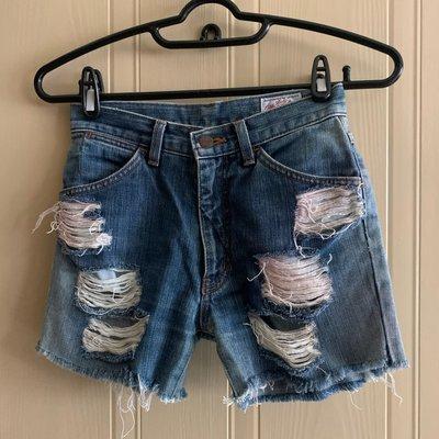 【GROOVY購入】Wrangler (Lady)丹寧短褲 (Made in Japan)