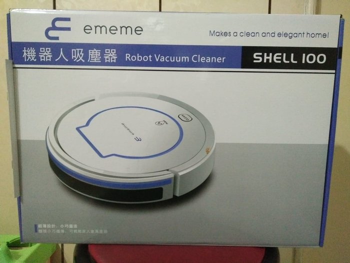 地板機器人吸塵器.無遥控器