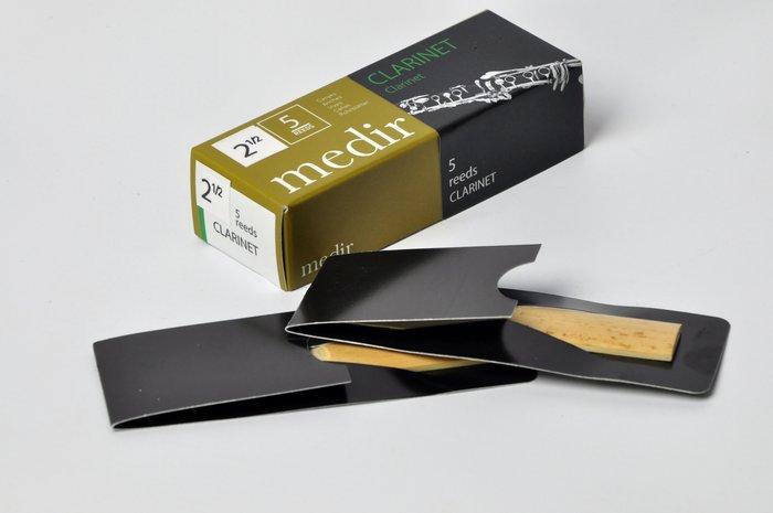 §唐川音樂§【Medir Bb Clarinet 西班牙手工特挑竹片(5片裝) 單簧管 用】 Vandoren V12