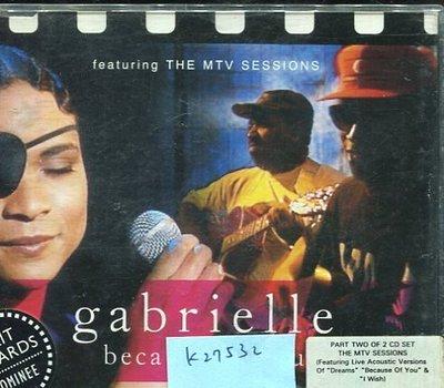 *真音樂* GABRIELLE / BECAUSE OF YOU 二手 K27532