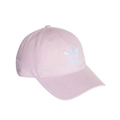 =CodE= ADIDAS TREFOIL CAP 三葉草立體電繡棒球帽(粉紅白) DJ0882 老帽 SNAPBACK