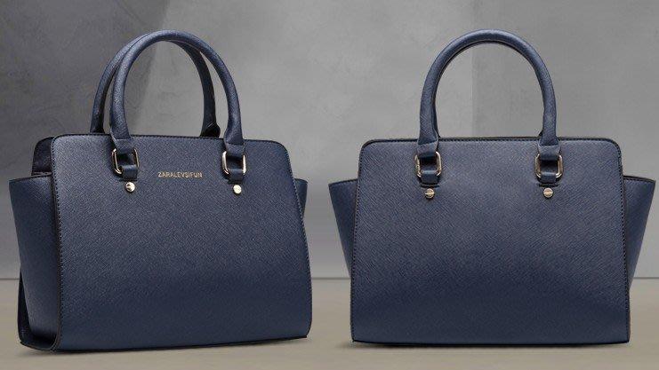 【便宜出清】全新 藍色 手提肩背包 優雅流行款 喜歡ZARA H&M MK的進來看看