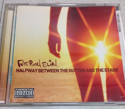 Fatboy Slim, halfway between the gutter & stars, 英國2000年原版