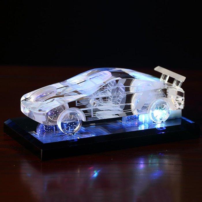 奇奇店-送男友水晶車模型汽車擺件車內飾品車載香水創意情人節生日禮物